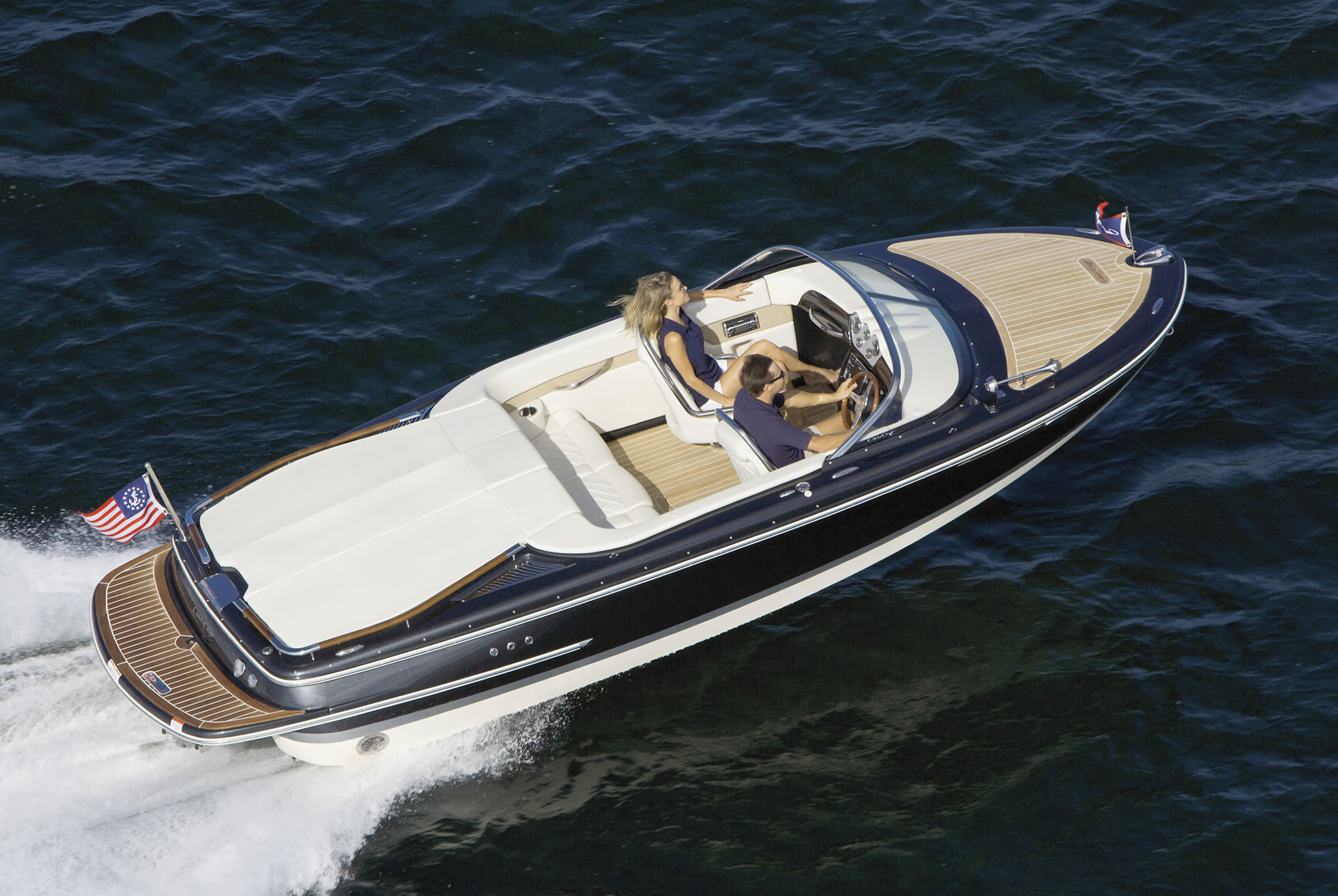 Chris Craft Blue Paint