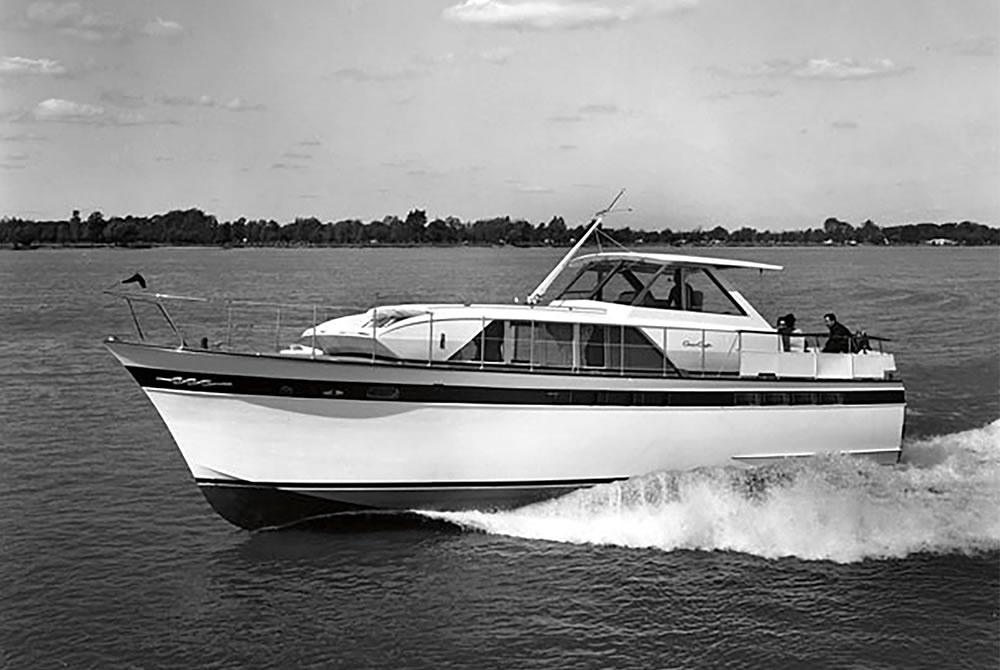 Historical Timeline | Chris-Craft Boats